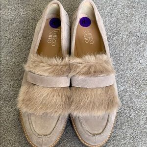 Suede loafer -brand new never worn. Size 8.5